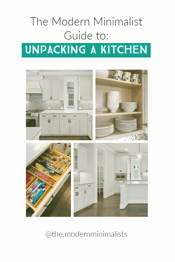 The Modern Minimalist Guide to Unpacking a Kitchen